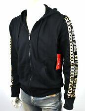 True Religion Men's Logo Panel Zip-up Sweatshirt/Hoodie - 103222