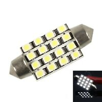 41mm HIGH Bright 16 LED'S Festoon Bulb Interior Glove Box Dome 40mm 42mm