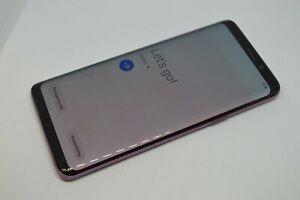 Samsung Galaxy S9 SM-G960U 64GB Purple Unlocked GSM AT&T T-MOBILE VERIZON #L621