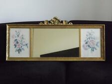 Vintage Gold Gilded Wood Victorian Mirror w John Edwards 1787 Print Uttermost Co