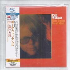 PAUL WILLIAMS Here Comes Inspiration JAPAN mini lp cd SHM papersleeve UICY-75207