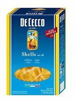 12 PACKS : De Cecco Pasta, Shells, 16 Ounce