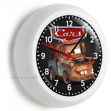 RADIATOR SPRINGS CARS MATER TOW TRUCK WALL CLOCK BEDROOM BABY BOY NURSERY DECOR