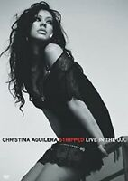 DVD Christina Aguilera ‎– Stripped (Live In The U.K.) UK 2004 SEALED