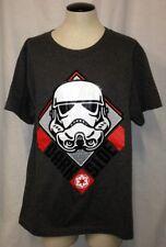 Disney Star Wars Boys Dark Side Graphic-Print T-Shirt Gray Size Youth Small
