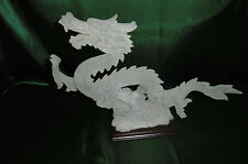 statuette figurine dragon en resine dure