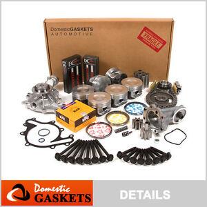 99-03 Ford Windstar 3.8L V6 12-Valve OHV Master Engine Rebuild Kit VIN 4