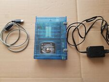 Iomega zip 100 External Drive USB - Translucent Blue  + Cables