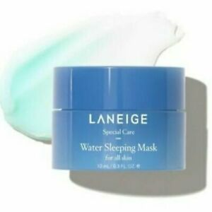 New Laneige Hydrating Water Sleeping Mask Deluxe Travel Size 10mL
