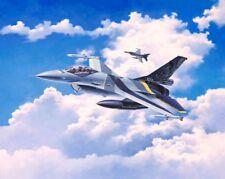 Lockheed Martin F-16 Mui 100 Aniv Revell modelo de los aviones kit 1 72 03905