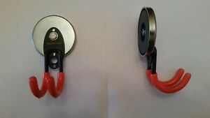 Monster-sized magnetic tool box hanger/storage hook