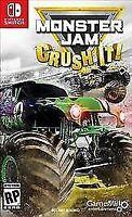 Monster Jam: Crush It (Nintendo Switch, 2017) BRAND NEW SEALED FAST SHIPPING !