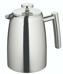 New AVANTI Modena Double Wall Insulated S/Steel Coffee Plunger 3 / 6 / 8 Cup