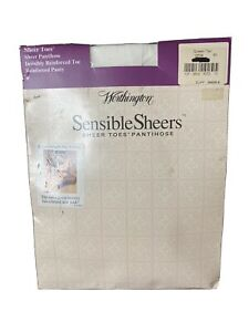 Worthington Sensible Sheers Silky Control Top Pantyhose Size Queen Tall 4x
