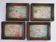 "Lee Dubin ""Set of Four Framed Victorian Collection"""
