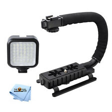 Professional LED Video Light & Stabilizing Grip For All Cameras!! Brand New!!