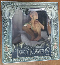 SIDESHOW LOTR THE TWO TOWERS GOLLUM COLLECTOR'S GIFT SET - NO DVD