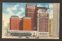 Unused Postcard Hotel Adolphus Dallas Texas TX
