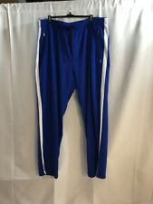 Polo Ralph Lauren Performance Blue With White Stripe Mens Sweatpants Size 4XLT