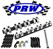 PRW 3335013 Small Block Chevy 262-400 Shaft Mount Roller Rockers Split Ratio SBC