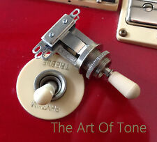 Switchcraft SHORT Frame 3-way Toggle Switch (w/ Cream Tip)  Epiphone® Les Paul®