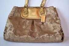 Cute COACH ASHLEY HORSE & CARRIAGE Bag F15656