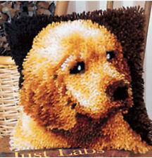 PUPPY LOVE Latch Hook Kit 12 x 12 inch latch hook canvas