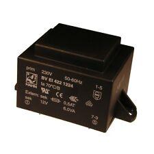 Hahn Print Trafo 230V Printtrafo 6VA 12V Netztrafo Transformator 853660