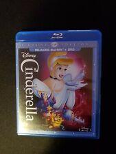 Disney, Cinderella, Blu-ray +DVD, Lot B2.