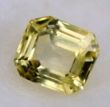 1.87 Ct Natural Golden Yellow Color Sapphire Ceylon No Heat Gemstone With Video