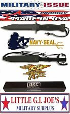 OKC GENUINE MILITARY ISSUE U.S. Navy Seals MK 3 Combat Knife 3281