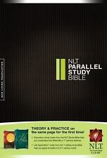 NLT Parallel Study Bible (2011, Hardcover)