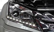 DRL Under Head Light Led Daytime Running Lamp Fit Isuzu Mu-X Suv 2015-2016 Fitt