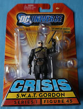 """S.w.a.t Gordon/Crisis/DC Héroes infinitos/3.75"""" Figura De Acción/Mattel"""
