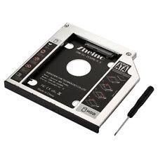 Zheino 9,5mm Aluminum SATA Second HDD / SSD Caddy Adapter SATA Festplatte