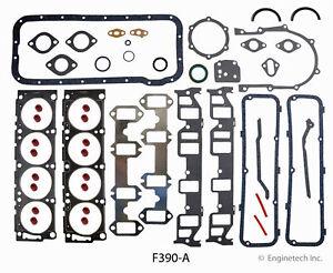 ENGINETECH F390-A Engine Rebuild Gasket Set