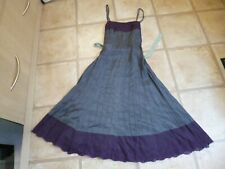 Monsoon - pretty bluey purple dress - size 10 - worn once