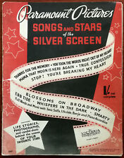 More details for paramount pictures songs and stars of the silver screen – pub. 1937