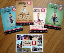 Cyclisme - LOT complet 5 cartes Vélo Anjou Vintage - Saumur 2017