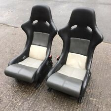 Genuine Porsche 964RS RS Recaro lightweight leather bucket seats, triple grey