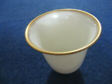 """One Lenox China Demitasse Cup/Liner/Insert.Gold Trimmed.2 1/8"""".Excellent"""
