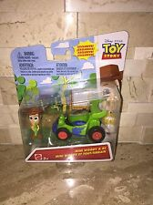 DISNEYS TOY STORY MINI WOODY & RC FIGURE SET