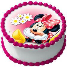 Micky Minnie Maus Eßbar Tortenaufleger NEU Party Deko Geburtstag dvd Tortenbild