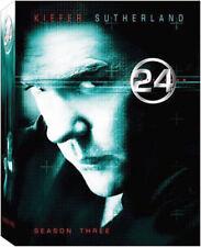 6-disc TWENTY FOUR 24 Season 3 third three DVD Elisha CUTHBERT Vanessa FERLITO