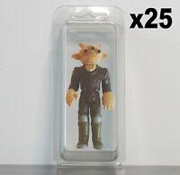 25 x Premium Loose Blister Cases for 3 3/4 Inch Figures Star Wars G.I Joe Etc