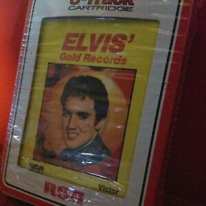 1958 ELVIS' GOLD RECORDS8 TRACK TAPE MONOPHONIC STEREO RCA NY VICTOR VERY GOOD