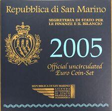 COFFRET SAN MARINO - EUROS BU 2005