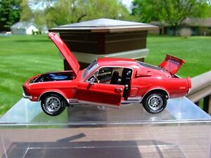 Franklin Mint 1/24th Scale L.E. 1968 Shelby G.T.500 KR---VERY VERY NICE---