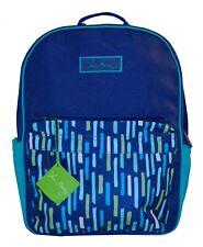 NWT Vera Bradley SM Colorblock School Backpack Book Bag Katalina Showers Blue