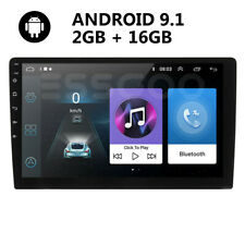 "10.1"" Doppel 2 Din Android 9.1 Autoradio Mit GPS Navi Bluetooth WIFI USB 2+16GB"